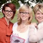 Stefanie Beck, Jessica Forster und Tanja Beck